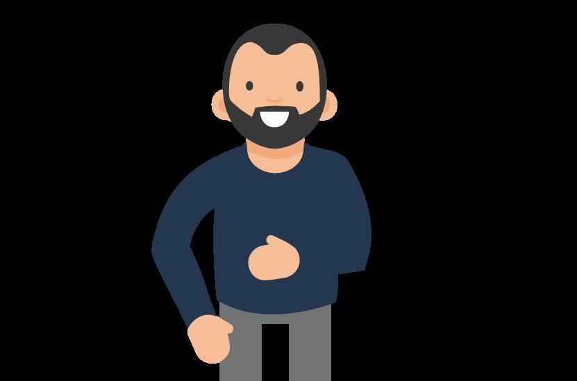 Simon Linsolas webdesigner sénior à Lachezleswatts