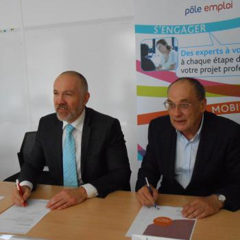 Signature de convention avec Pôle Emploi