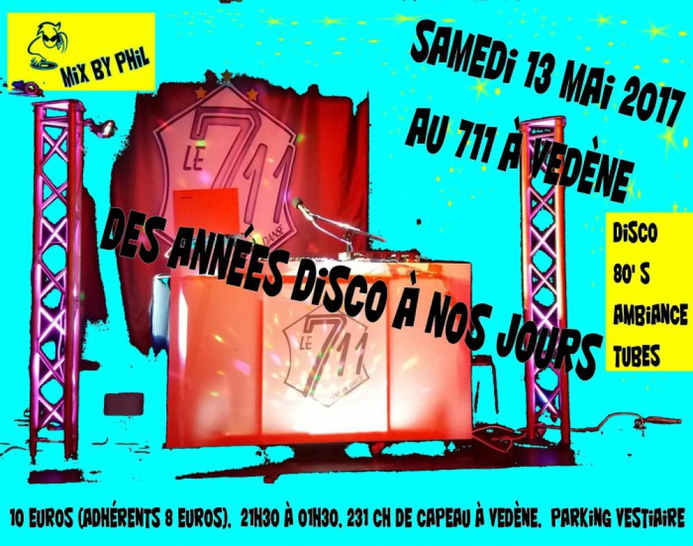 Soirée Rock/Latino/80's/Ambiance au 711 By Phil