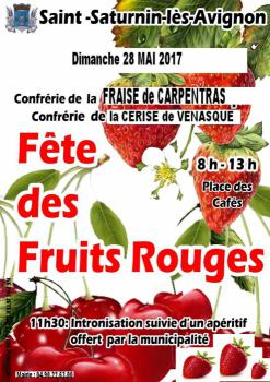Fête des Fruits Rouges