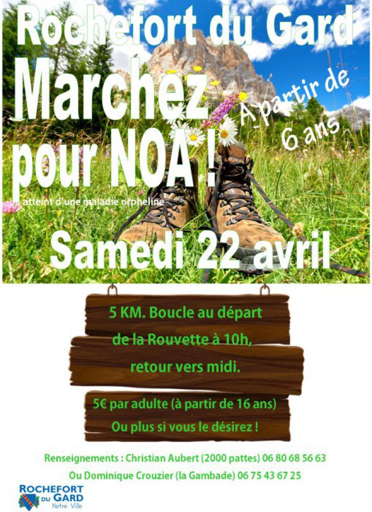 Marche pour NOA