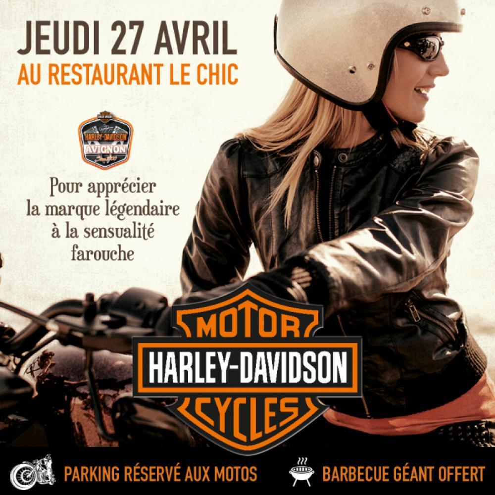 Soirée Harley Davidson