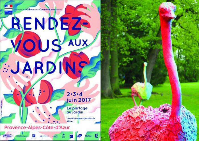Rdv aux jardins la bastide rose avignon llw for Rdv aux jardins