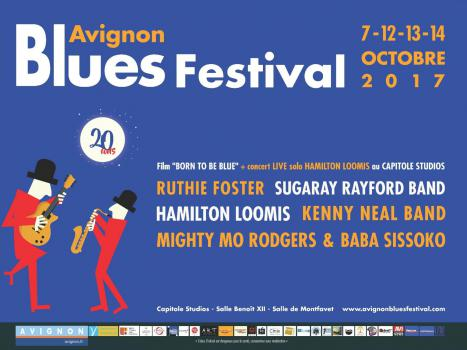AVIGNON BLUES FESTIVAL 2017 du 7 au 14 octobre 2017