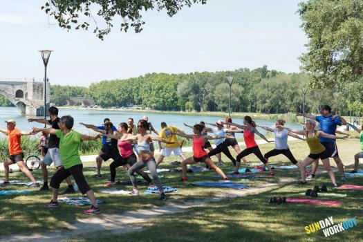 Sunday Workout #26 - Avignon