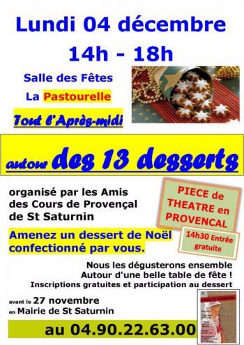 13 desserts et provencal