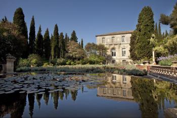 Abbaye Saint-André Jardins à l'italienne Villeneuve lez Avignon