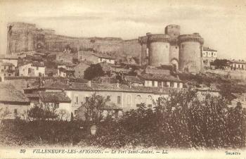 Le Fort Saint André - Villeneuve les Avignon