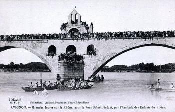 Joutes sur le Rhône