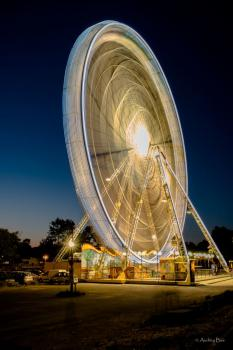 La grande roue by night