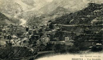 Brantes - Vue générale - 1926
