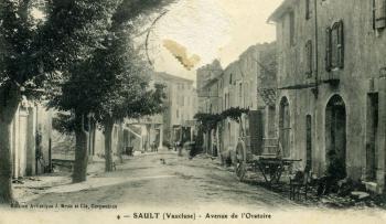 Sault avenue de l'oratoire 1919