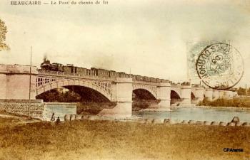 Le Pont du Chemin de fer sur le Rhône