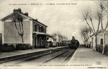 La gare et le train