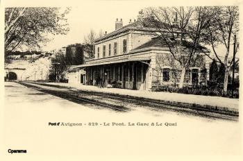 La Gare, les Quais et le Tunnel