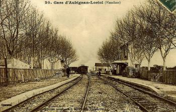 Intérieur de la gare d'Aubignan-Loriol