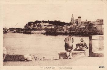 Avignon- Vue générale