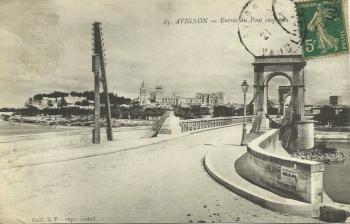 Avignon Pont suspendu