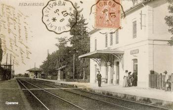 Vue intérieure de la gare